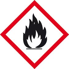 Tűzveszélyes anyagok piktogram