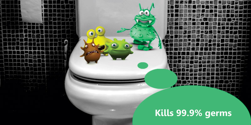 baktériumok a wc-ben