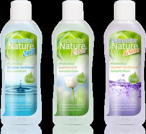Egészséges tisztítószer termékcsalád