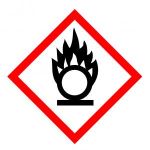 Oxidáló anyagok piktogram