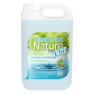 SanoD'or Nature Brill- Probiotikus általános tisztítószer koncentrátum